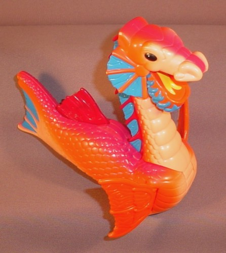 """Fisher Price Imaginext Sea Serpent 6 1/2"""" Tall, 7 1/4"""" Long, Head Moves Forwards"""