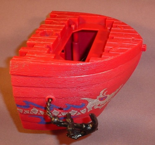 Fisher Price Imaginext Bow Hull Section With Pull Out Anchor, G8738 Pirate Ship