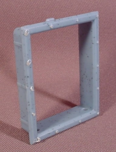 Fisher Price Imaginext Blue Gray Speckled Window Frame For Standard Window
