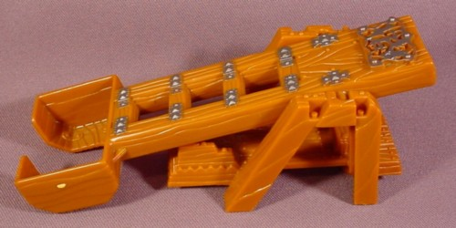 Fisher Price Imaginext Brown Wood Timber Catapult Log Launcher Weapon, 78333