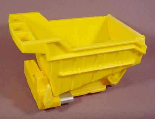 Fisher Price Imaginext Yellow Dump Truck Body, 78330 Construction Site