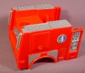 Fisher Price Imaginext Red Fire Truck Body With Thumbwheel To Turn Accessories
