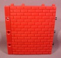 Fisher Price Imaginext Red Brick Wall