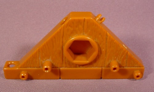 Fisher Price Imaginext Brown Wood Triangle Floor Platform