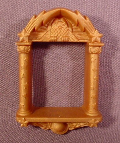 Fisher Price Imaginext Gold Ornate Window Frame, 78331 Wizard's Tower