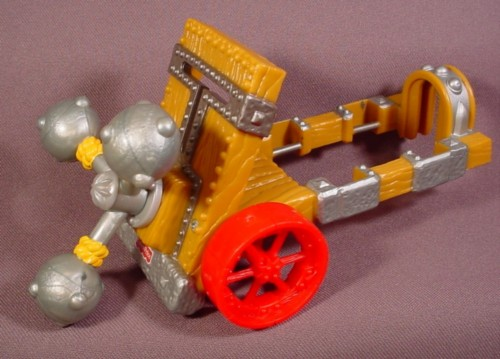 Fisher Price Imaginext Battle Dragon Wagon With Spinning Mace Weapons, 78352