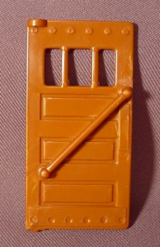 Fisher Price Imaginext Copper Brown Single Door, 78334 Police Station, B2499