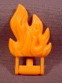 Fisher Price Imaginext Orange Flames Fire On Base That Swivels Down, 78328 Rescue