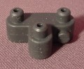 Fisher Price Imaginext Black Triple Snap On Connector