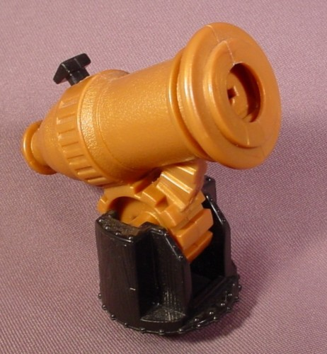 Fisher Price Imaginext Gold Cannon That Fires Red Missiles (Not Included)