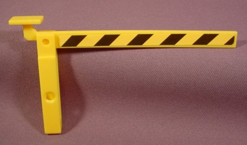 Fisher Price Imaginext Lift Up Road Barrier On Post, 78330 Construction Site