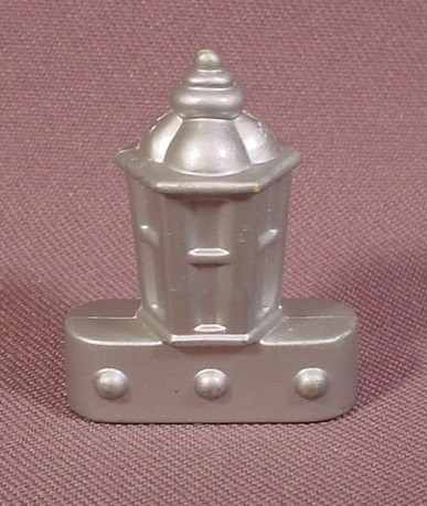 Fisher Price Imaginext Silver Deck Lanterns With 3 Clip On Holes In Base, B1472 G8738