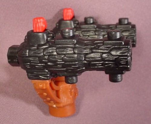 Fisher Price Imaginext Double Missile Launcher Made Of Black Logs, 78514 Charger