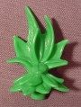 Fisher Price Imaginext Green Long Leaf Plant, Snap On Base, 2 1/2 Inches Tall, C6998 C1785 H5341