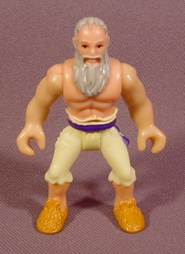Fisher Price Imaginext Pirate Figure, Yellow Torn Pants, Gray Beard, 2 1/2 Inches Tall, B2496