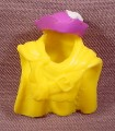 Fisher Price Imaginext Yellow Cowl With Purple Pirates Hat, Long Cape, B1472