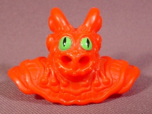 Fisher Price Imaginext Red Monster Mask Cowl, Green Eyes, 78357 Goblin's Dungeon