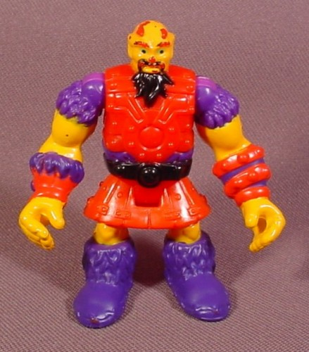 Fisher Price Imaginext Ogre Figure, Red & Purple Clothes, 2 3/4 Inches Tall, 78357 Goblin's