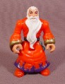 Fisher Price Imaginext Wizard Figure, Red Clothes, Long White Beard, 2 1/2
