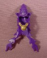 Fisher Price Imaginext Purple Wizard's Cloak Cowl With Pointy Hat, 78331 Wizard's