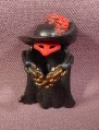 Fisher Price Imaginext Black Cowl With Red Mask & Feather, Gold Chain, B9775 Phantom Octopus