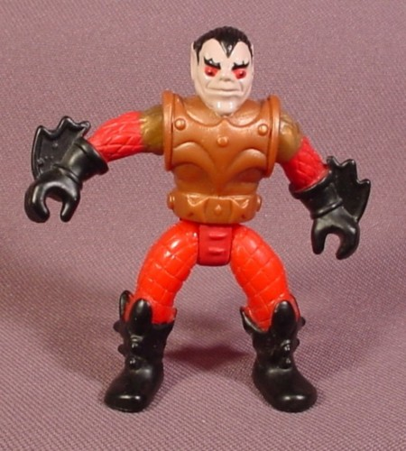 Fisher Price Imaginext Troll Warrior Figure, Gold Armor, Red Arms & Legs, 2 1/2 Inches Tall