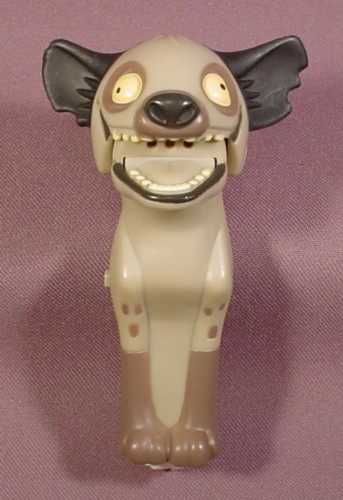 """Mcdonalds Lion King Laughing Ed The Hyena Finger Puppet Toy, 4 1/2"""" Tall"""