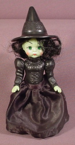 Madame Alexander The Wizard Of Oz Wicked Witch Of The West Doll, 5 3/4 Inches Tall, 2007 McDonalds