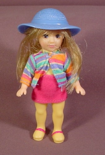 McDonalds 2003 Madame Alexander Doll Wendy As Hannah Pepper, 5 Inches Tall