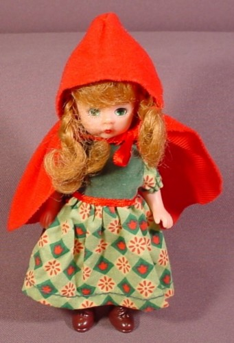 "Mcdonalds 2002 Madame Alexander Doll Little Red Riding Hood, 5 3/8"" Tall"