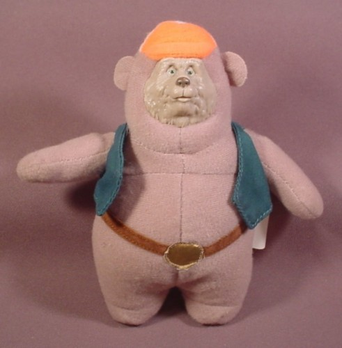 McDonalds 2002 Walt Disney World Country Bears Big Al Plush Doll Figure Toy, 6""