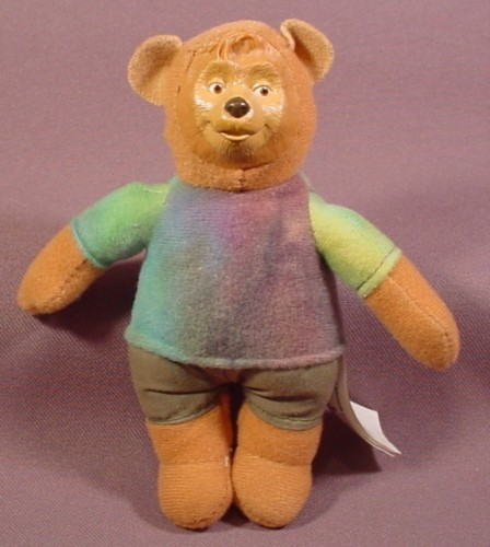 Mcdonalds 2002 Walt Disney World Country Bears Beary Barrinson Plush Doll Figure