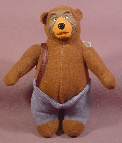 Mcdonalds 2002 Walt Disney World Country Bears Fred Bederhead Plush Doll Figure