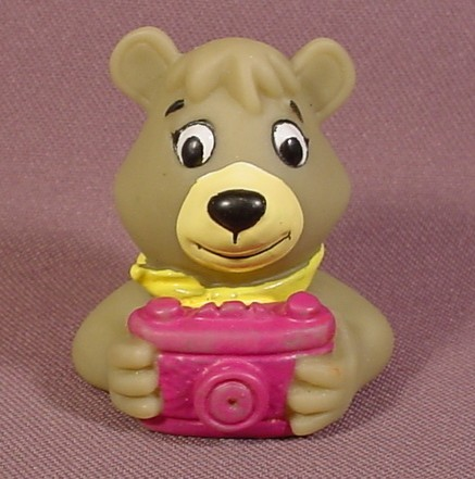 Arby's Restaurant Cindy Bear Soft Rubber Water Pistol Figure Toy 1994 Hanna-Barbera