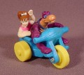 Flintstones Pebbles & Dino On Blue Trike Toy, 2