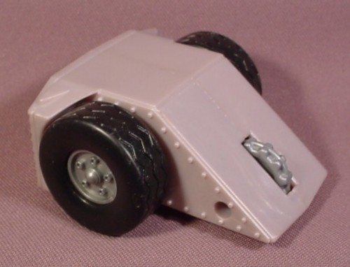 """Mcdonalds 2002 Battlebots #6, Pull Back Toy With Spinning Saw Blade, 3"""" Long"""