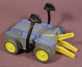 Mcdonalds 2002 Battlebots #5, Pull Back Toy With Jaws & Hammers, 3 1/2