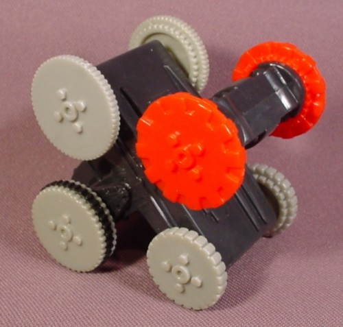"Mcdonalds 2002 Battlebots #4, Pull Back Toy With Geared Wheels, 2 1/2"" Long"