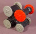 Mcdonalds 2002 Battlebots #4, Pull Back Toy With Geared Wheels, 2 1/2