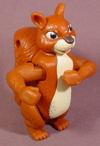 The Wild Benny The Squirrel Figure Toy, 3 1/2 Inches Tall, Wind Up And He Dances