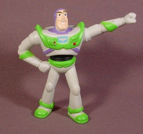 "Mcdonalds 2005 Disney Parks & Resorts 50Th Buzz Lightyear PVC Figure, 3 3/8"" Tall"