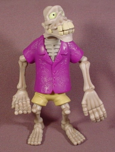 McDonalds 2005 Tak Dead Juju Figure Toy, 4 3/4 Inches Tall, Makes A Creaky Sound