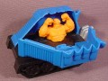 Marvel Superheroes The Thing In Break Open Vehicle, 4 1/4 Inches Long, 1996 McDonalds