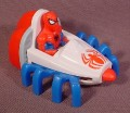 "McDonalds 1995 Marvel Spiderman In Spider Vehicle, 3 3/8"" Long, Spider Legs Move"