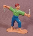Pirate Figure With 2 Knives, 2 1/2