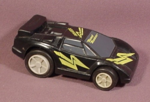 "Burger King 1989 Hasbro Record Breakers Dominator Car, 3 3/4"" Long, Friction Motor"