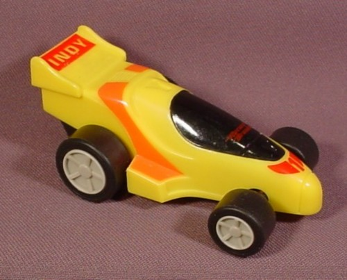 Burger King 1989 Hasbro Record Breakers Indy Car 3 3 4