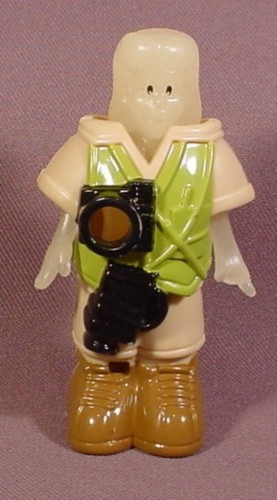 Burger King 1995 Snaps Glow Force Glow In The Dark Figure With 2 Piece Explorer Outfit