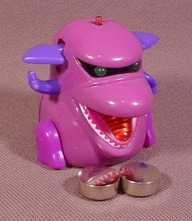 """Tomy 2002 Micropets Sumo Electronic Figure Toy, 1 3/4"""" Tall, Lights Up, Makes Noise"""