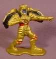 Power Rangers Goldar Alien PVC Figure, 2 3/4